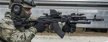 AKTSP 6-pozycyjna prowadnica polimerowa - AK47/74
