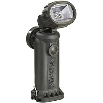 Akumulatorowa latarka kątowa Knucklehead Flood, kol. czarny, 200 lm