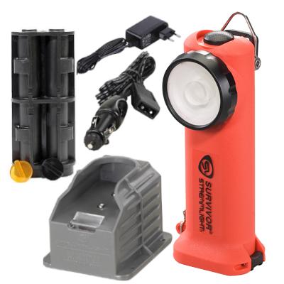 Akumulatorowa latarka strażacka Streamlight Survivor ATEX w zestawie, 175 lm