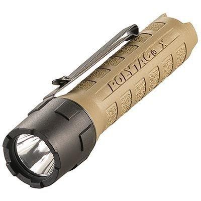 Bateryjna latarka taktyczna Streamlight PolyTac X, kol. Coyot, 600 lm