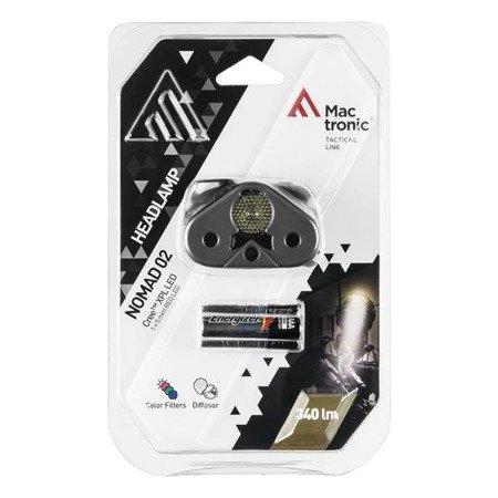 Czołówka Mactronic NOMAD 02 340 lm bateryjna