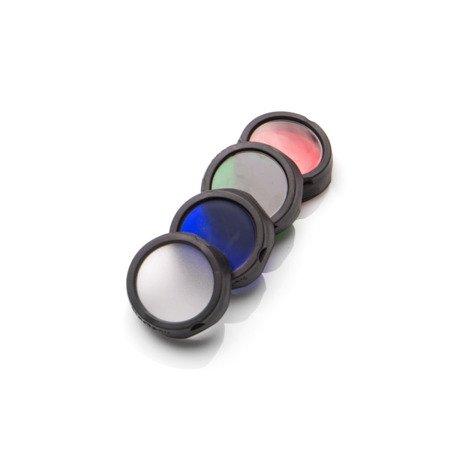 Flitr zestaw: BLACK EYE, Mactronic, kolor czerwony/zielony/niebieski/rozpraszający