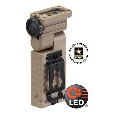Kątowa wojskowa latarka Sidewinder Military, E-mount, 55 lm