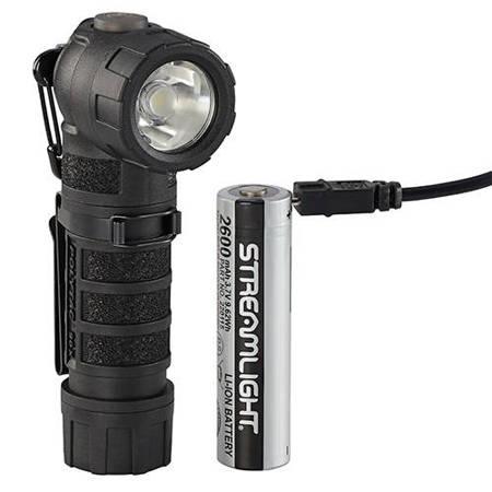 Latarka kątowa Streamlight Polytac 90X USB, kol. czarny, 500 lm