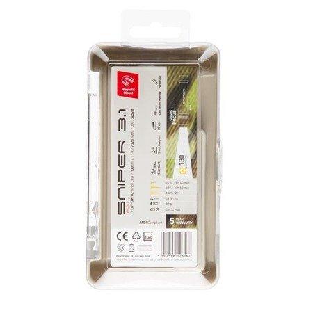 Latarka ręczna SNIPER 3.1, 130lm