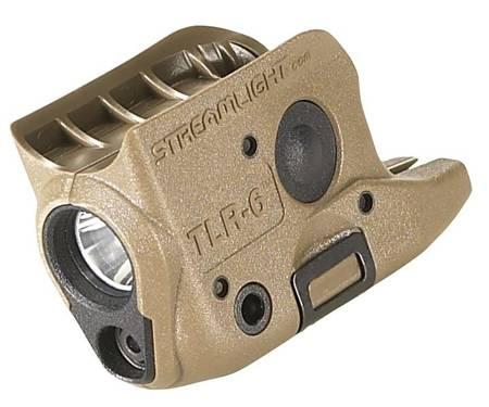 Latarka taktyczna Streamlight TLR-6 do GLOCK 42/43, 100 lm
