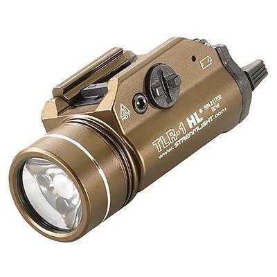 Latarka taktyczna na broń Streamlight TLR-1 HL, kol. brązowy