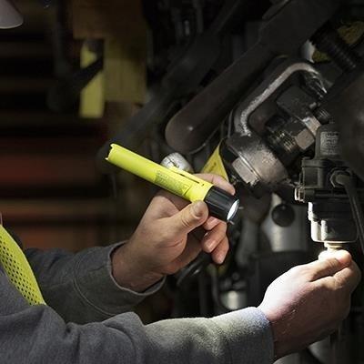 Ręczna latarka przemysłowa Streamlight 2AA ProPolymer HAZ-LO, kolor żółty, 65 lm