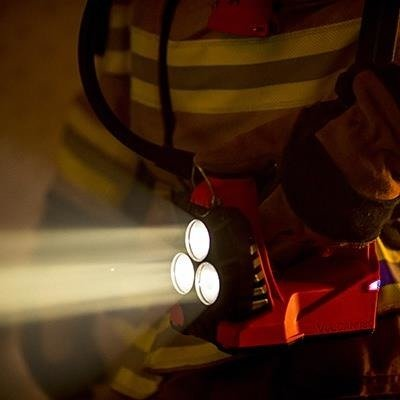 Szperacz strażacki Streamlight Vulcan 180 w zestawie, 1200 lm